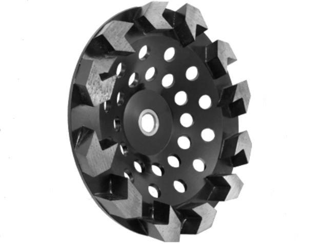 7 Inch Arrow Segment Cup Wheelsdiamond Grinding Wheels