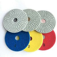 New Pattern 3 Step Diamond Velcro Polishing Pads