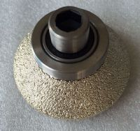 Vacuum Brazed Diamond Router Bits Stone Profile Tools
