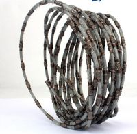Diamond wire for marble aluminum and single crystal silicon cutting
