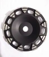 New segment shape diamond grinding cup wheel