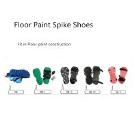 Floor Paint Spike Shoes