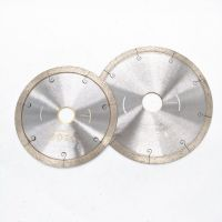 Diamond cutting blades for ceamics