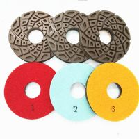 3 Steps Diamond  Polishing Pads for Concrete Floor