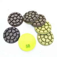3 or 4 inch copper polishing puck for concrete floor