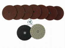 General wet polishing pads