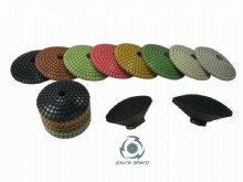 Convex polishing pads DMC_01