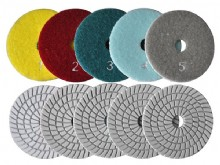 5 step wet polishing pads (5SP_03)