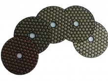 5 Step Shine Dry Polishing Pads For Stone and Concrete Polishing (5SP_01)