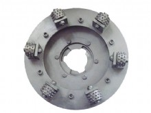 Bush Hammering Plate For Klindex System