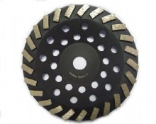 7 Inch Wave Turbo Cup  Grinding Wheel