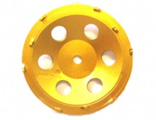 4 Inch Double Row PCD Cup Wheels